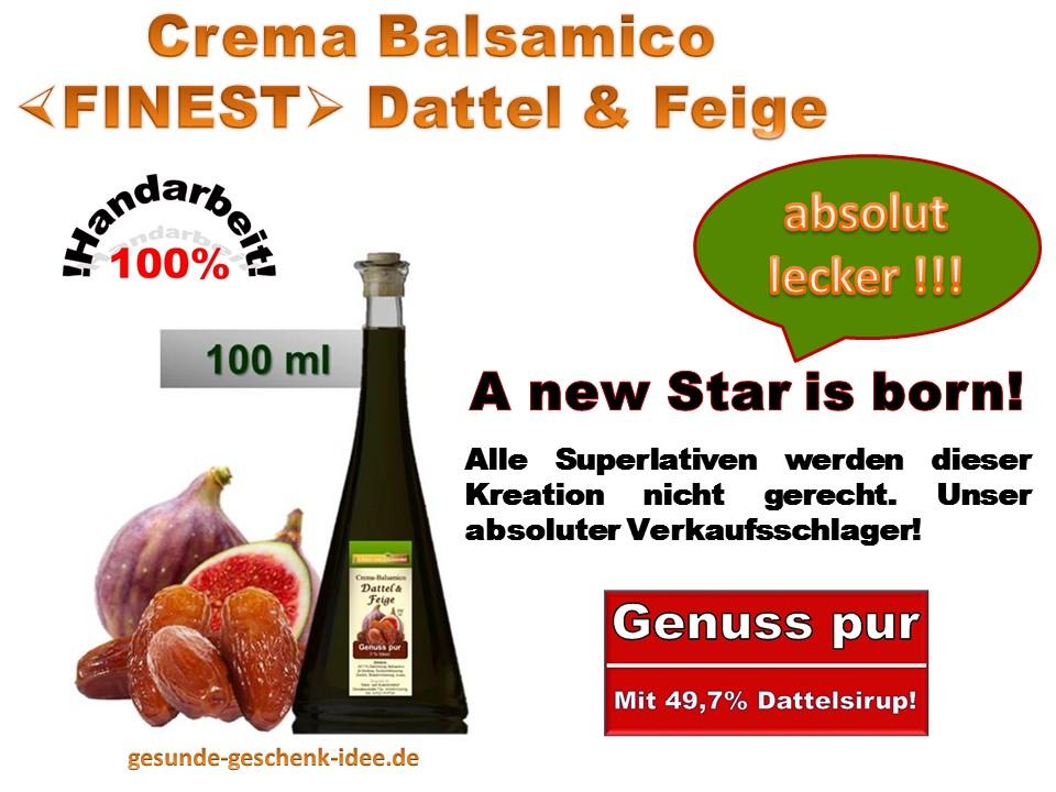 Crema Balsamico -FINEST-  Dattel & Feige