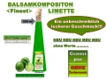 Balsamkomposition -FINEST- Limette 200ml